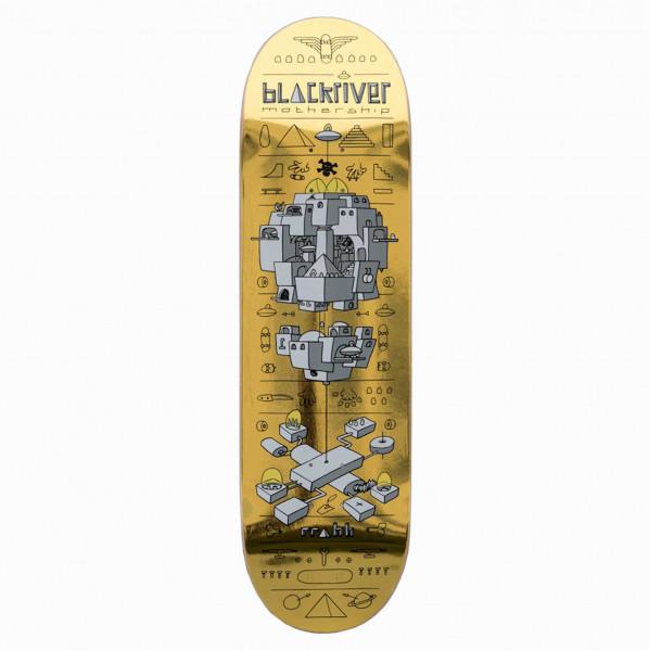 "Blackriver Skateboard ""Mothership Gold"""