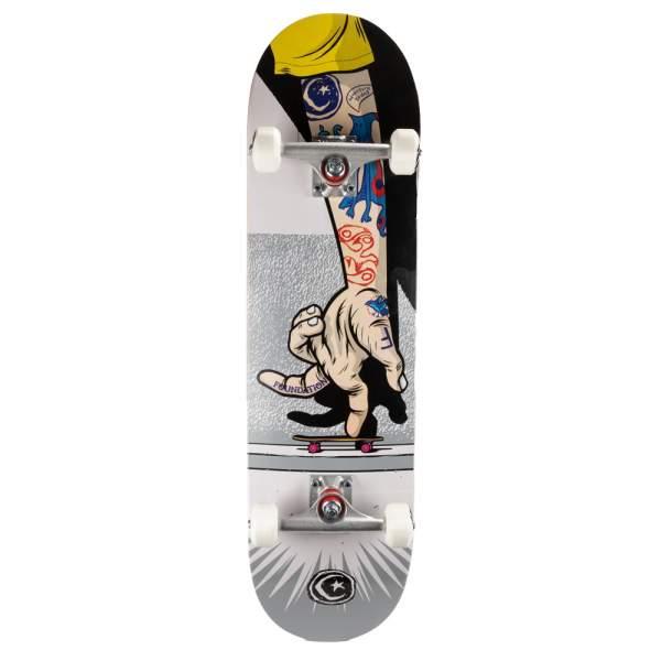 "Foundation Complete Starter Skateboard ""Handskater"" 8.125"