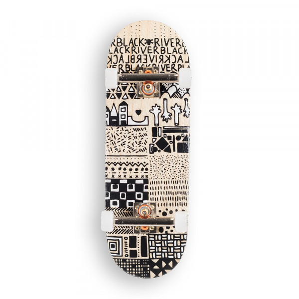 "Berlinwood classic 29mm ""En Voyage"" Mini Pattern Set"