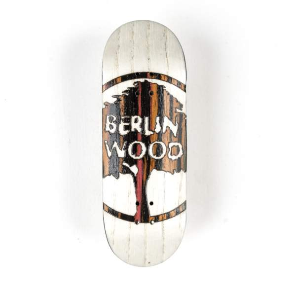 """BerlinWood Special Edition """"Acid Stripes"""" X-Wide 33,3mm white"""