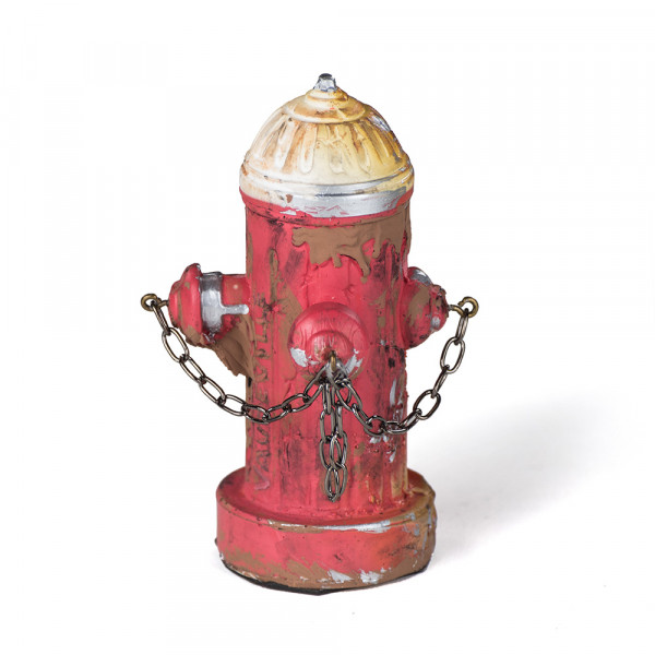 Vaudeville Mini Fire Hydrant red