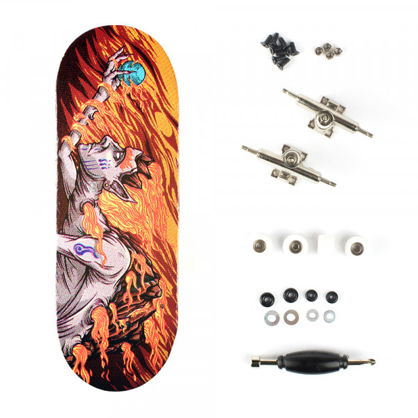 "Berlinwood ""Bastl Boards Fire"" inkl. Bollie Setup"