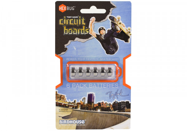 Circuit Boards Battery 6er Pack
