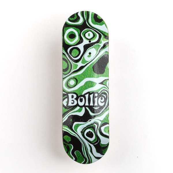 "Bollie Fingerboard ""Psychedelic"" green"