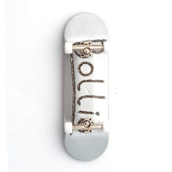 Bollie Logo Leaves silver Fingerboard Set