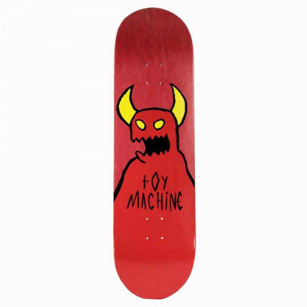"""Toy Machine Skateboard """"Logo red"""" size 9.0"""