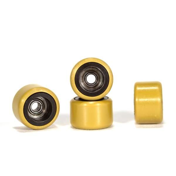 FlatFace Wheels Dual Durometer Black/Gold