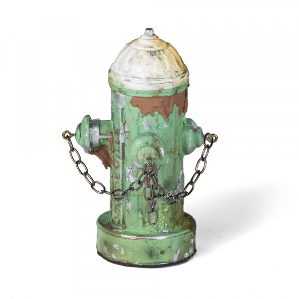 Vaudeville Mini Fire Hydrant green