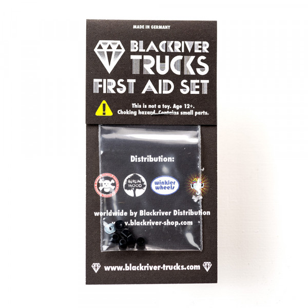Blackriver Trucks First Aid Bushings medium black