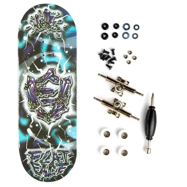 "Berlinwood ""Flat Face Crystal"" inkl. Bollie Set"