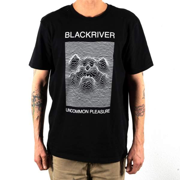 "Blackriver T-Shirt ""UNCOMMON PLEASURE"""