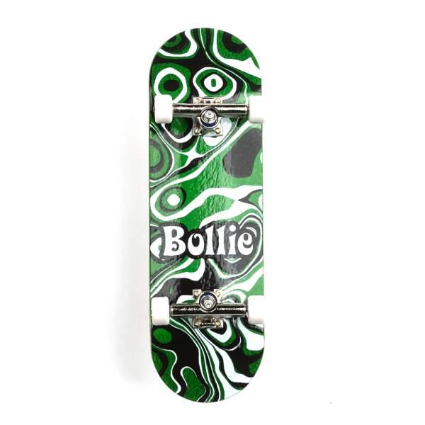 "Bollie Fingerboard ""Psychedelic"" green Set"