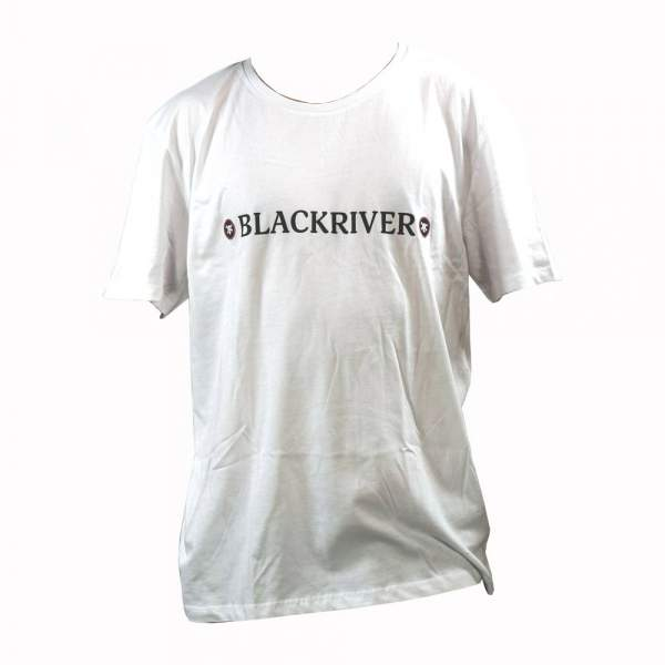 "+blackriver-ramps+ T-Shirt ""New Skull"" weiß"