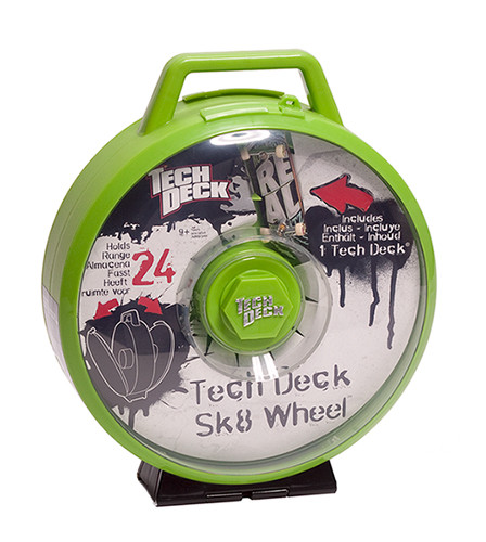 Tech Deck Wheel Displaycase green