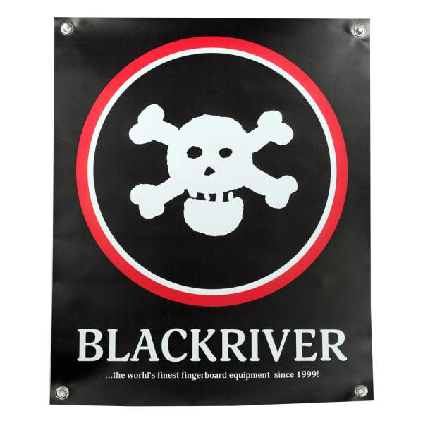 """Blackriver Banner """"New Skull"""""""