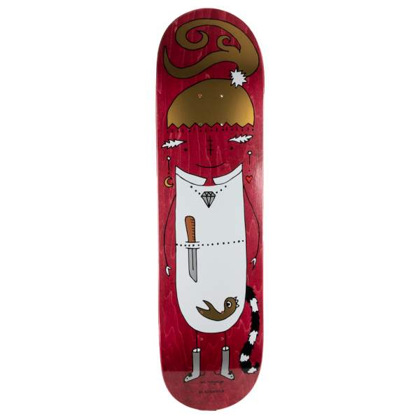"Blackriver Skateboard ""EnVoyage - Huntress Red"" Size 8.25"