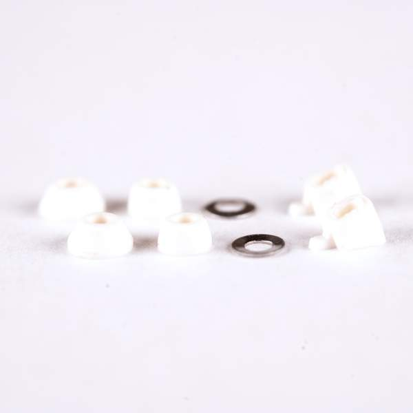 Blackriver Trucks First Aid Bushings classic white