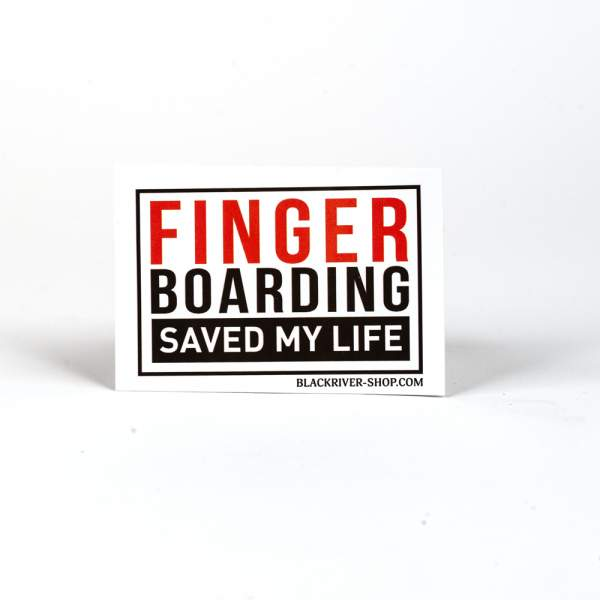 "Blackriver Sticker ""Saved my life'"