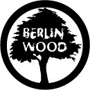 Blackriver Sticker M 'BerlinWood Logo'