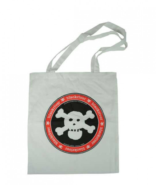 +blackriver-ramps+ Bag Classic Skull white