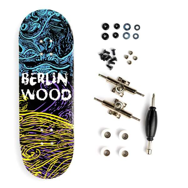 "BerlinWood ""Gene BW Pattern"" inkl. Bollie Setup"