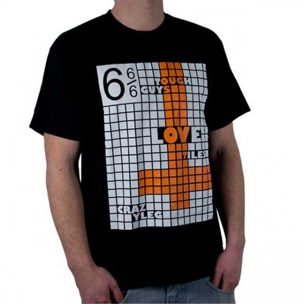 "Crazyleg T-Shirt ""Tiles"""