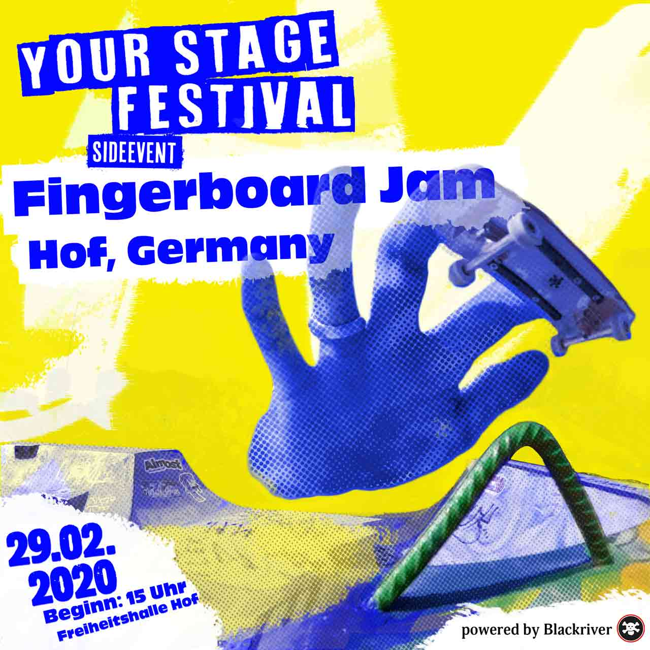 Blackriver Fingerboard Jam - Your Stage Festival 2020