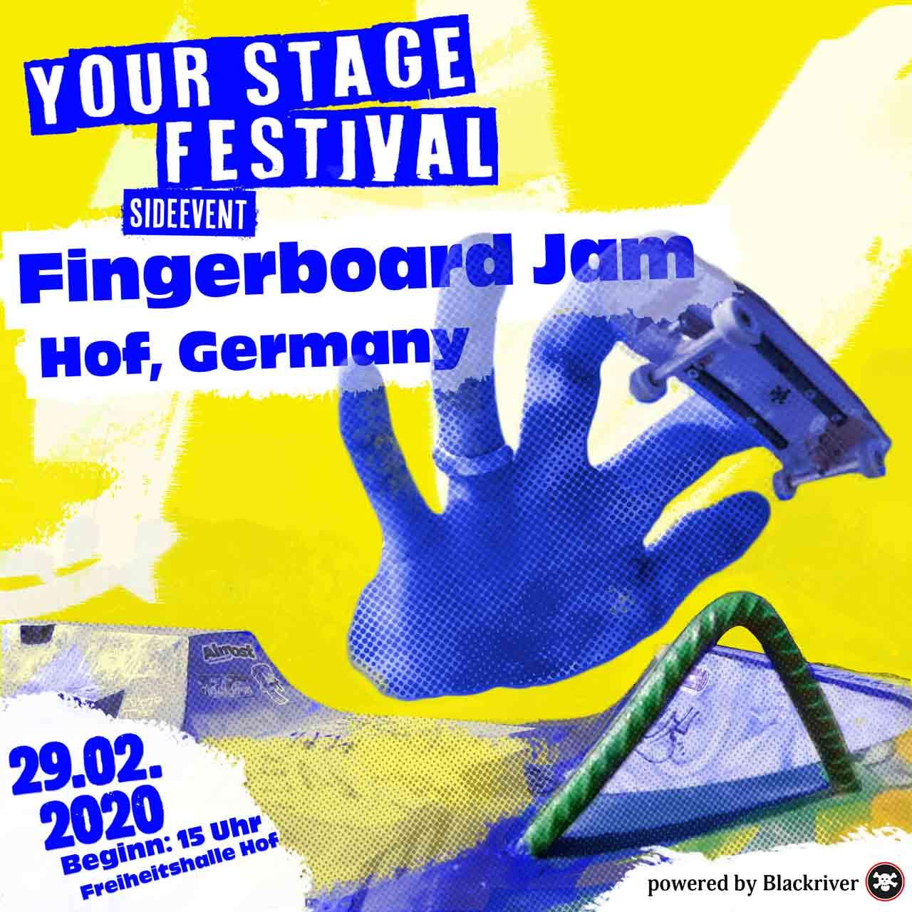 Blackriver Fingerboard Jam - Your Stage Festival 2020