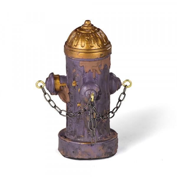 Vaudeville Mini Fire Hydrant purple