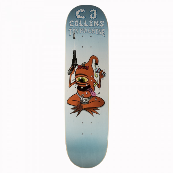 "Toy Machine Skateboard ""CJ Collins Baby Sect"" size 8.0"