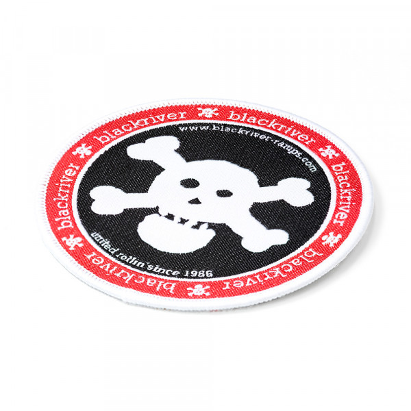 +blackriver-ramps+ Patches Classic Big Skull