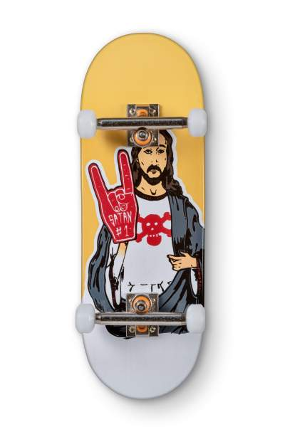 "Blackriver Fingerboard 7Ply ""Blackriver Jesus"" X-Wide 33,3mm Set"