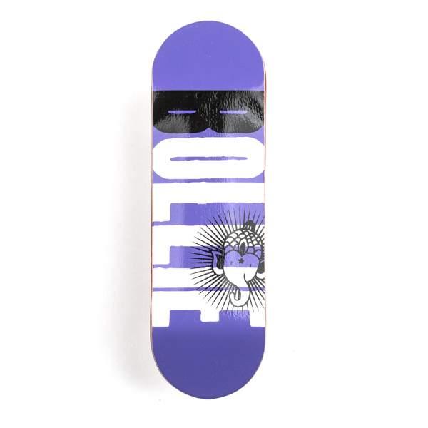 """Bollie Fingerboard """"Logo New"""" purple"""