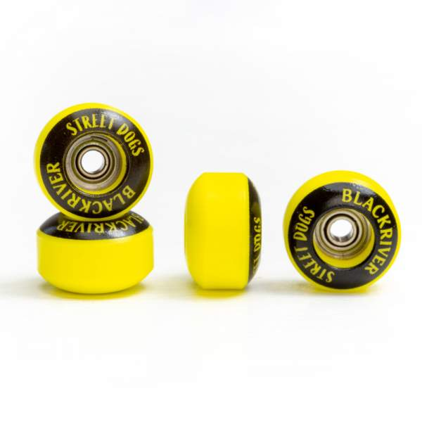 "Blackriver Wheels ""Street Dogs"" yellow"