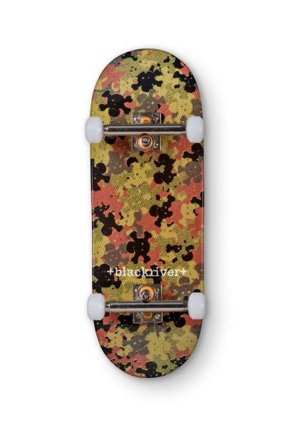 "Blackriver Fingerboard 7Ply ""Blackriver Camo green"" X-Wide 33,3mm Set"