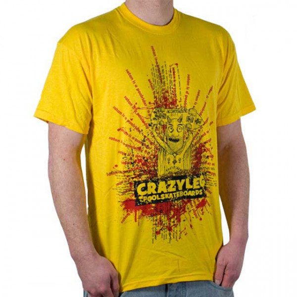 "Crazyleg T-Shirt ""Devil"""