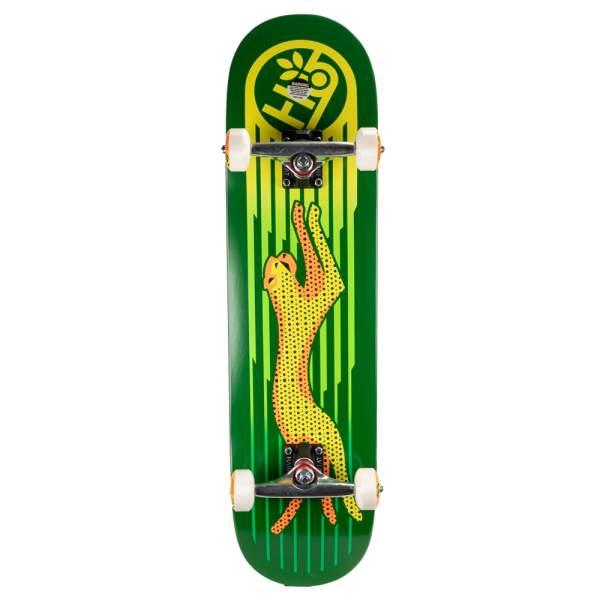 "Habitat Complete Starter Skateboard ""Neon Cheetah"" 8.125"