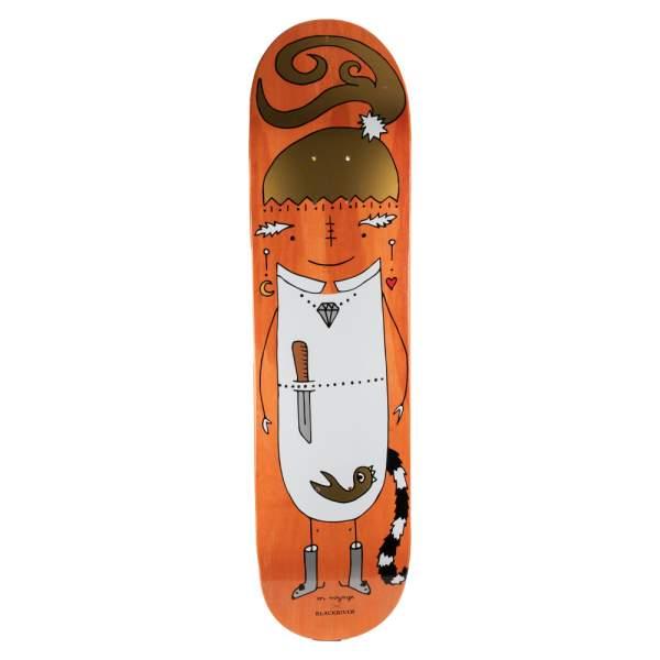 "Blackriver Skateboard ""EnVoyage - Huntress Orange"" Size 7.875"