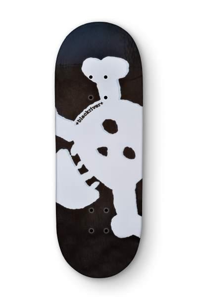 "Blackriver Fingerboard 7Ply ""Blackriver New Skull"" X-Wide 33,3mm"