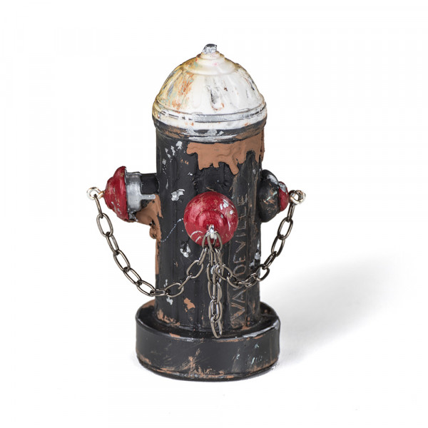 Vaudeville Mini Fire Hydrant black