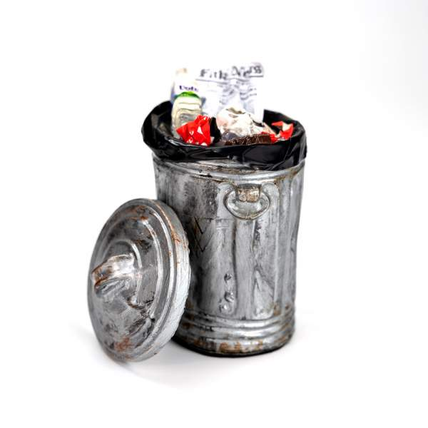 Vaudeville Mini Trash Can
