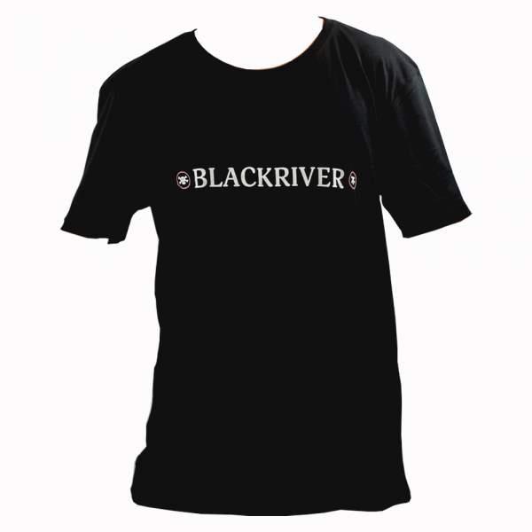 "Blackriver T-Shirt ""New Skull"" black"
