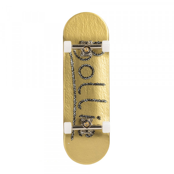 Bollie Logo Leaves gold Fingerboard Set