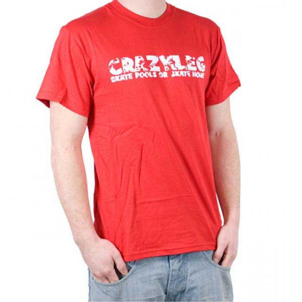 "Crazyleg T-Shirt ""Logo"""