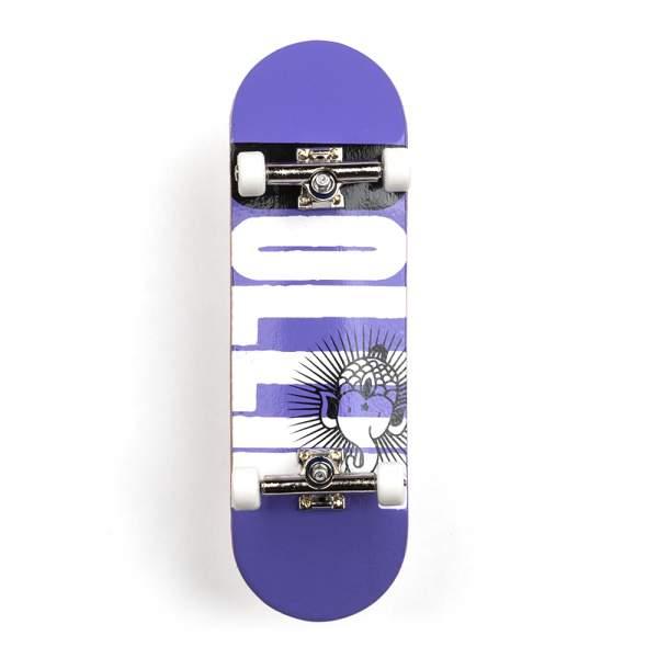 """Bollie Fingerboard """"Logo New"""" purple Set"""