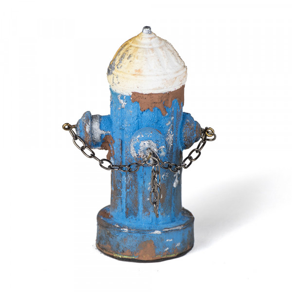 Vaudeville Mini Fire Hydrant blue