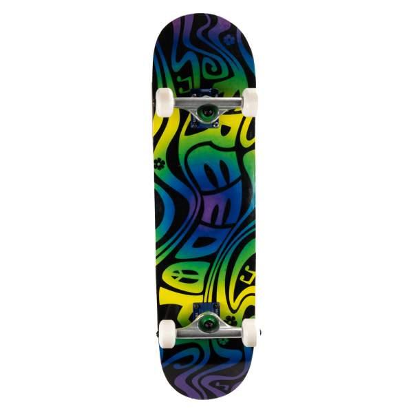 "Freedom Complete Starter Skateboard ""Swirl"" 8.125"