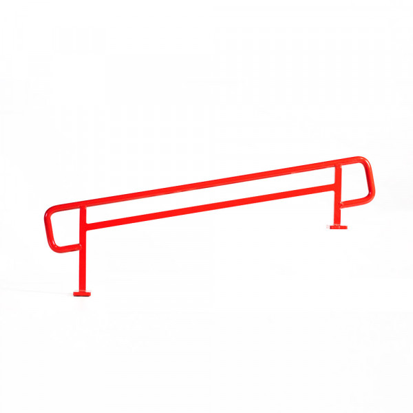+blackriver-ramps+ DIY Handrail XL round red