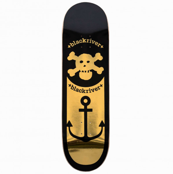 "Blackriver Skateboard ""Anchor Gold"""