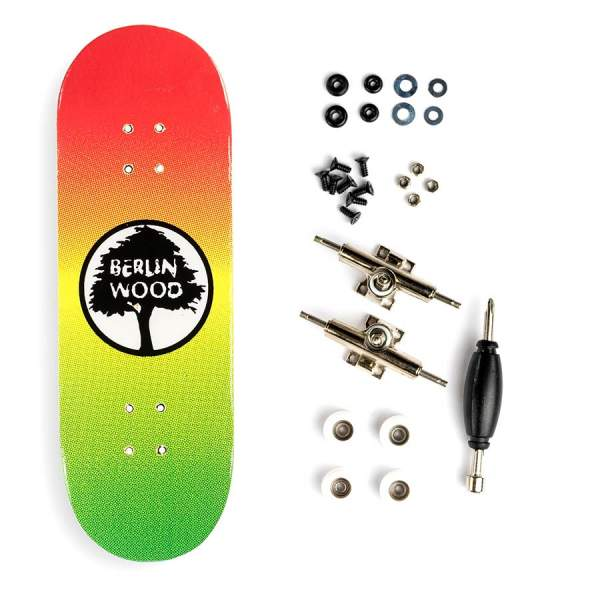 "Berlinwood ""BW Rasta"" inkl. Bollie Setup"